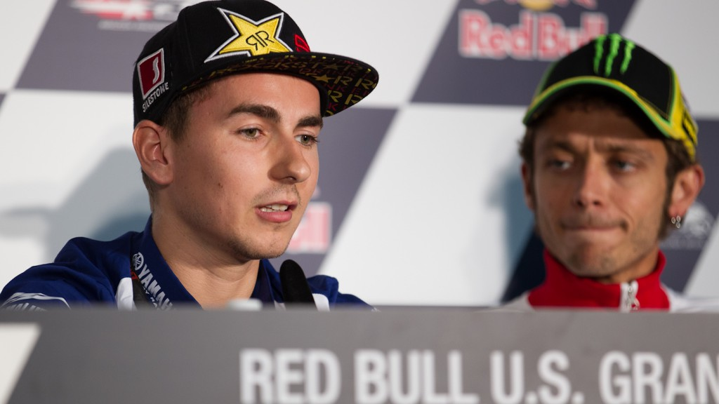 Jorge Lorenzo, Yamaha Factory Racing, Red Bull U.S. Grand Prix Press Conference