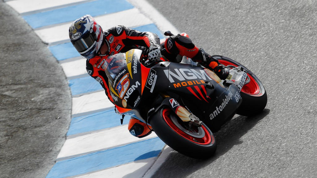 Colin Edwards, NGM Mobile Forward Racing, Laguna Seca FP2