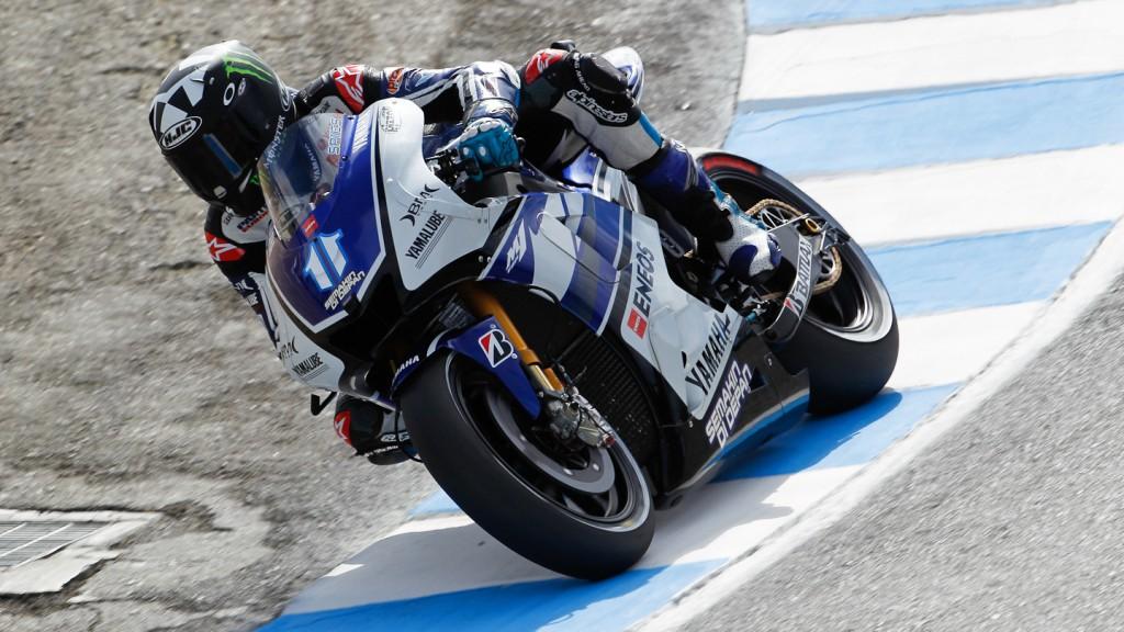 Ben Spies, Yamaha Factory Racing, Laguna Seca FP2