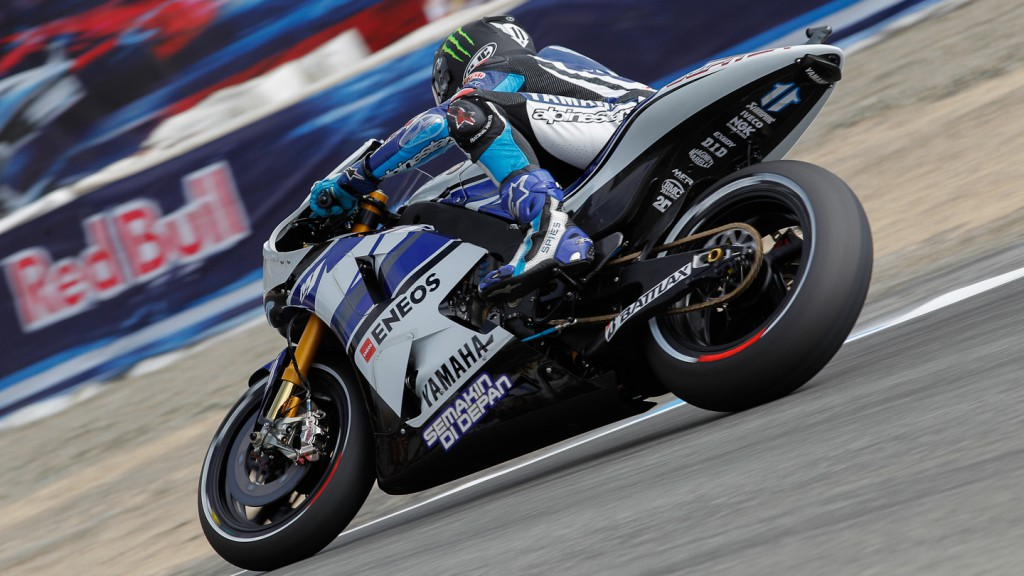 Ben Spies, Yamaha Factory Racing, Laguna Seca FP1