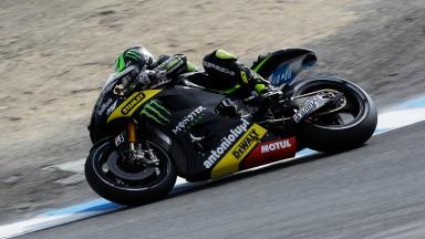 Cal Crutchlow, Monster Yamaha Tech 3, Laguna Seca FP2