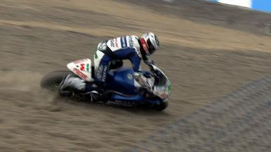 Laguna Seca 2012 - MotoGP - FP3 - Action - Ivan Silva - Crash