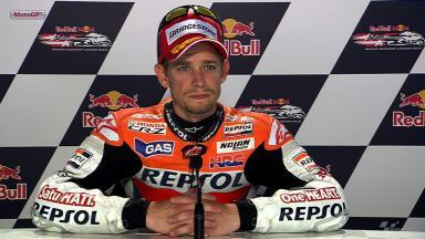Laguna Seca 2012 - MotoGP - QP - Interview - Casey Stoner