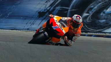 Laguna Seca 2012 - MotoGP - QP - Action - Riding style comparison