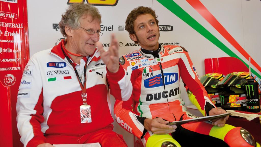 Jeremy Bugess, Valentino Rossi, Ducati Team, Laguna Seca FP1