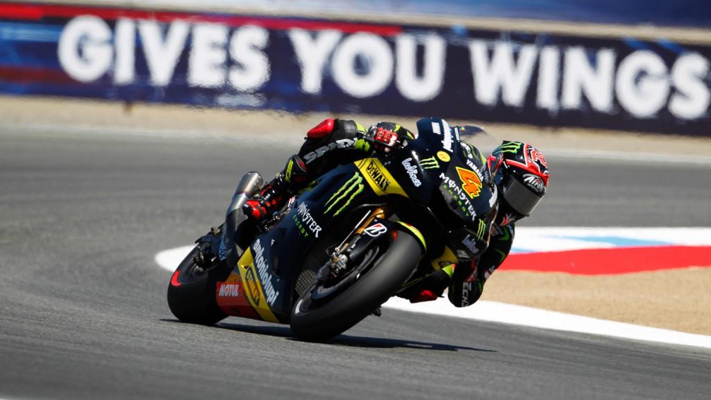 Andrea Dovizioso, Monster Yamaha Tech 3, Laguna Seca FP2