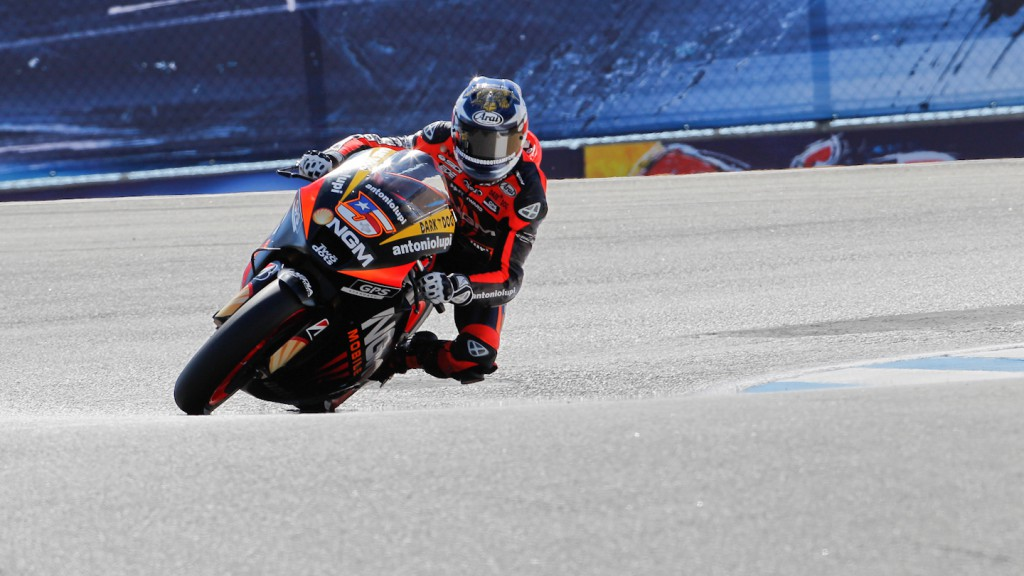 Colin Edwards, NGM Mobile Forward Racing, Laguna Seca QP