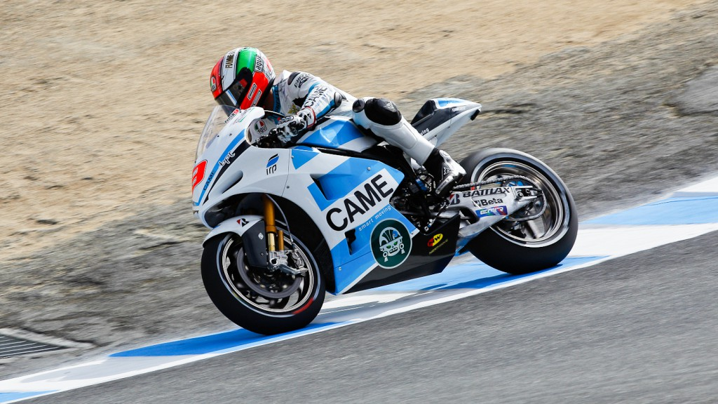 Danilo Petrucci, Came IodaRacing Project, Laguna Seca QP