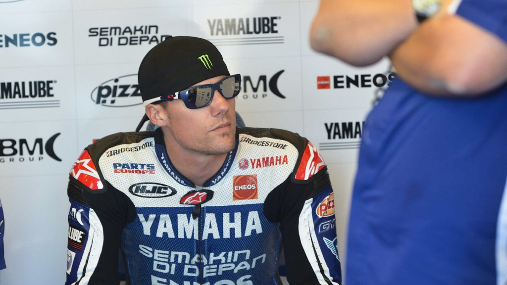 Ben Spies, Yamaha Factory Racing, Laguna Seca FP3