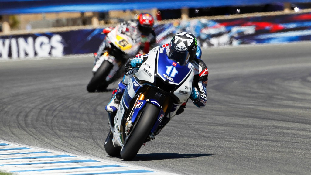 Ben Spies, Yamaha Factory Racing, Laguna Seca QP
