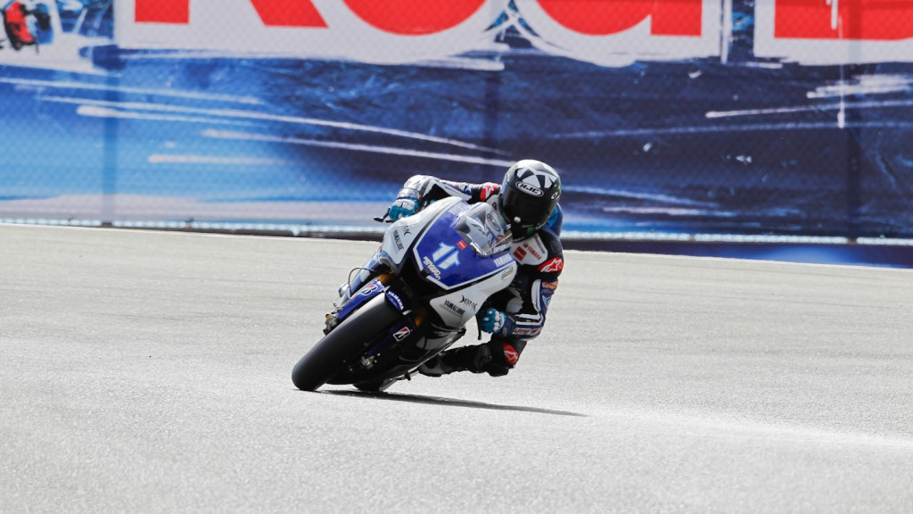 Ben Spies, Yamaha Factory Racing, Laguna Seca FP3
