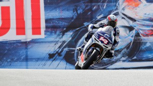 Power Electronics Aspar Team Laguna Seca race review