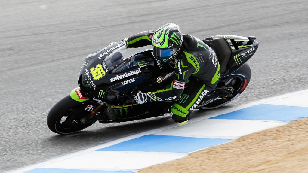 Cal Crutchlow, Monster Yamaha Tech 3, Laguna Seca FP3