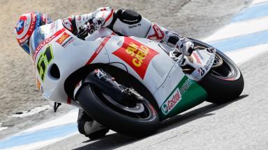 Michele Pirro, San Carlo Honda Gresini, Laguna Seca QP