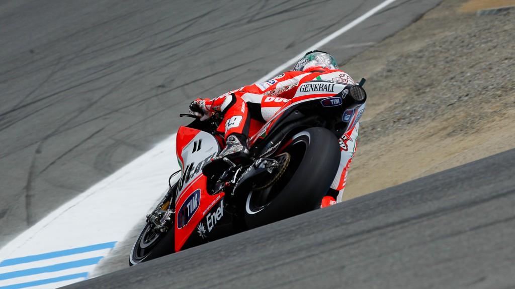 Nicky Hayden, Ducati Team, Laguna Seca FP3