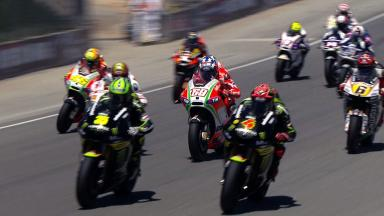 Laguna Seca 2012 - MotoGP - Race - Action - Race start