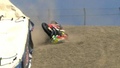 Laguna Seca 2012 - MotoGP - Race - Action - Valentino Rossi - Crash