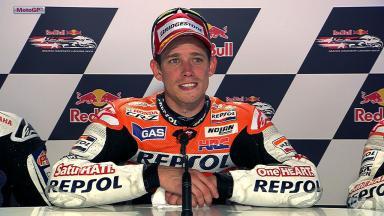 Laguna Seca 2012 - MotoGP - Race - Interview - Casey Stoner