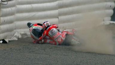 Laguna Seca 2012 - MotoGP - Warm Up - Action - Nicky Hayden - Crash
