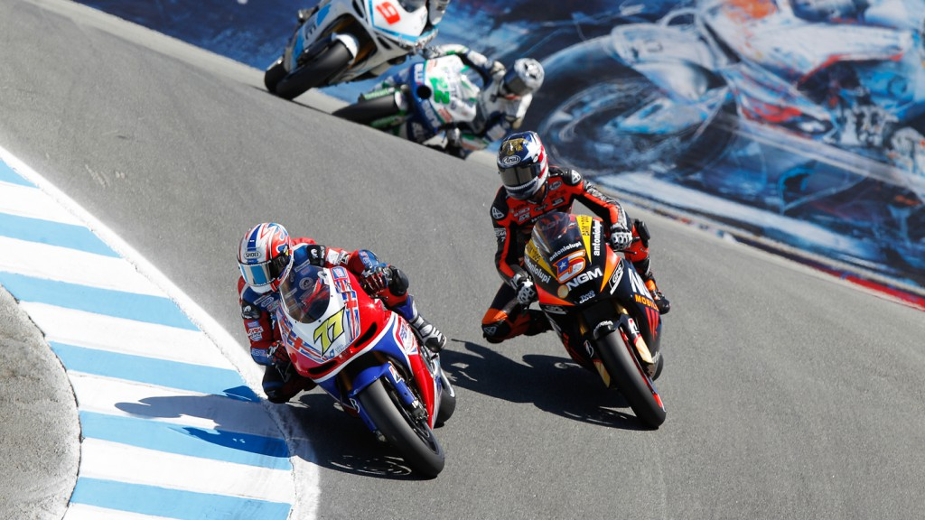 James Ellison, Colin Edwards, Paul Bird Motorsport, NGM Mobile Forward Racing, Laguna Seca RAC