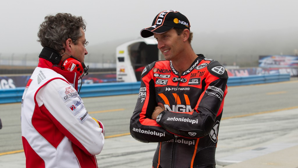 Colin Edwards, NGM Mobile Forward Racing, Laguna Seca WUP