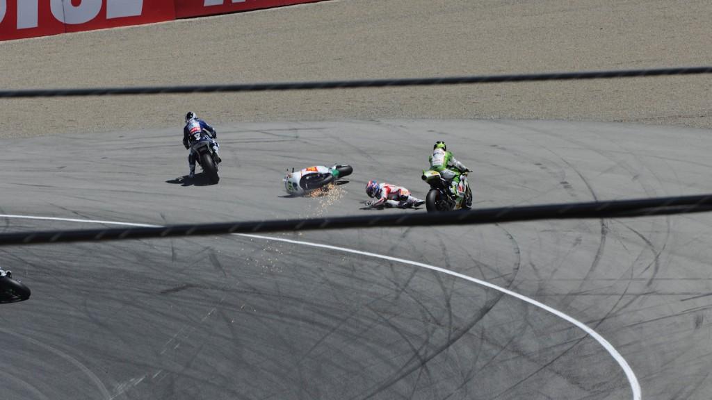 Michele Pirro, San Carlo Honda Gresini, Laguna Seca RAC