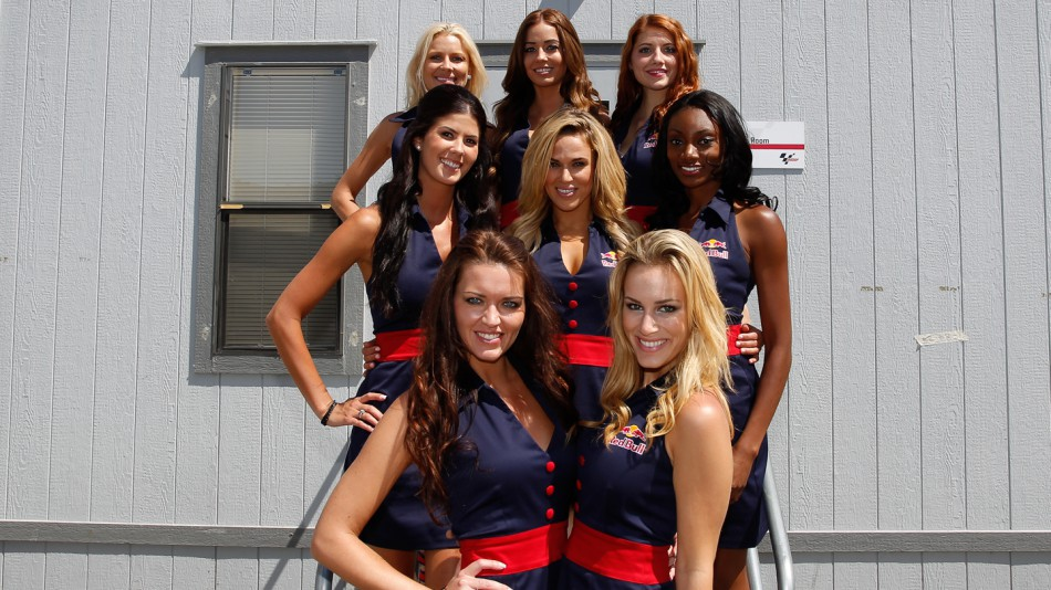 Paddock Girls Red Bull U.S. Grand Prix