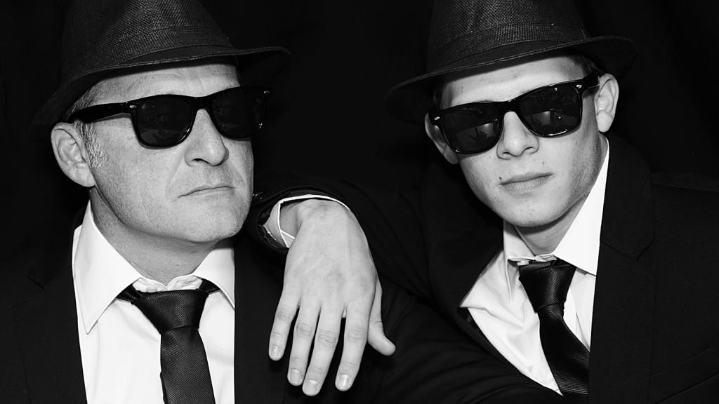 The Blues Bradls, Helmut and Stefan Bradl