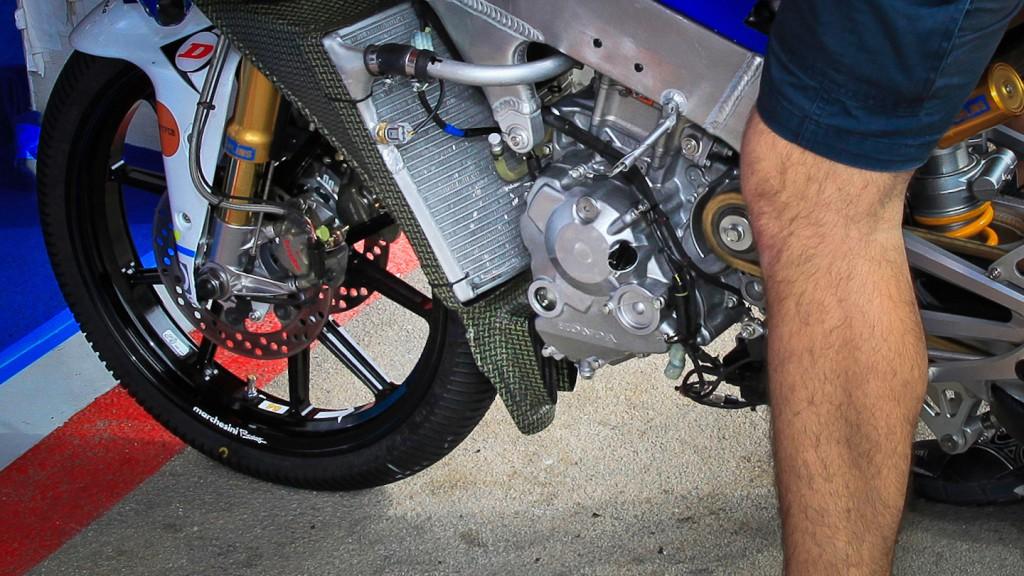 Moto3 Bike detail