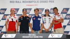Hayden, Stoner, Lorenzo, Bradl, Rossi, Red Bull Indianapolis Grand Prix Press Conference