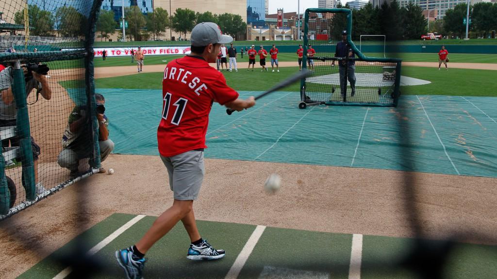 Red Bull Indianapolis Grand Prix Baseball Preevent, Victoria Field, Downtown Indanapolis