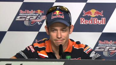 Indianapolis 2012 - MotoGP - Pre-event - Press Conference - Casey Stoner