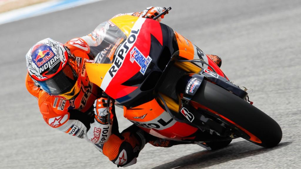 Casey Stoner, Repsol Honda Team, Indianapolis FP1