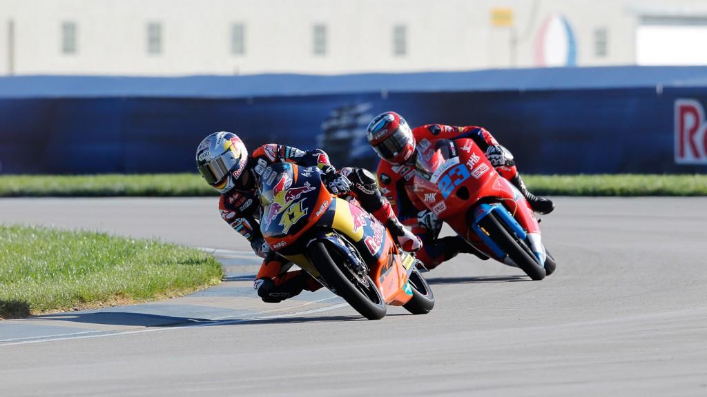 Sandro Cortese, Alberto Moncayo, Red Bull KTM Ajo, Andalucía JHK Laglisse, Indianapolis FP1