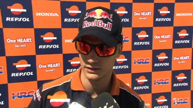 Pedrosa seeking improved grip
