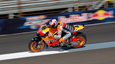 Casey Stoner, Repsol Honda Team, Indianapolis FP2
