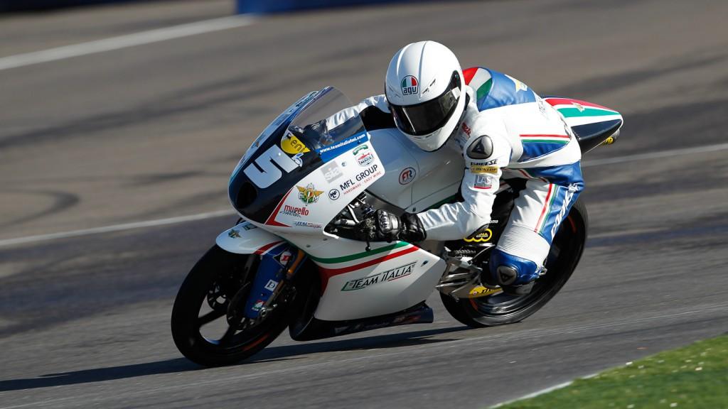 Romano Fenati, Team Italia FMI, Indianapolis FP2