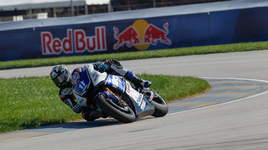 Ben Spies, Yamaha Factory Racing, Indianapolis FP1