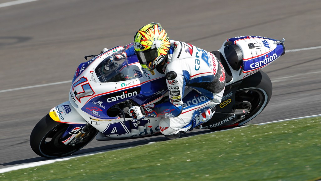 Karel Abraham, Cardion AB Motoracing, Indianapolis FP2