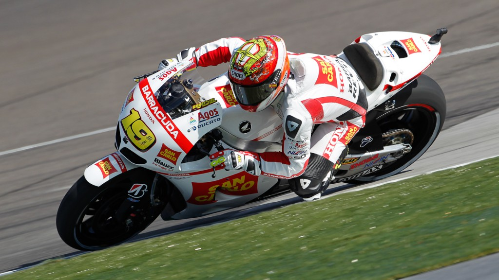 Alvaro Bautista, San Carlo Honda Gresini, Indianapolis FP2