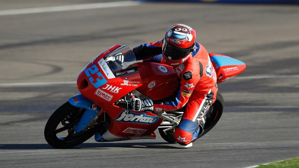 Alberto Moncayo, Andalucía JHK Laglisse, Indianapolis FP2