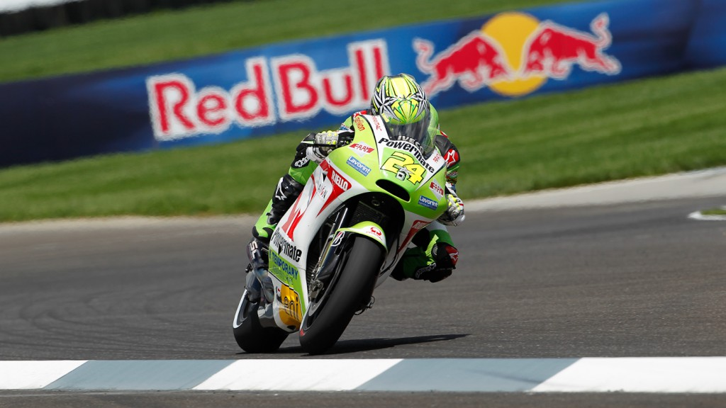 Toni Elias, Pramac Racing Team, Indianapolis FP2