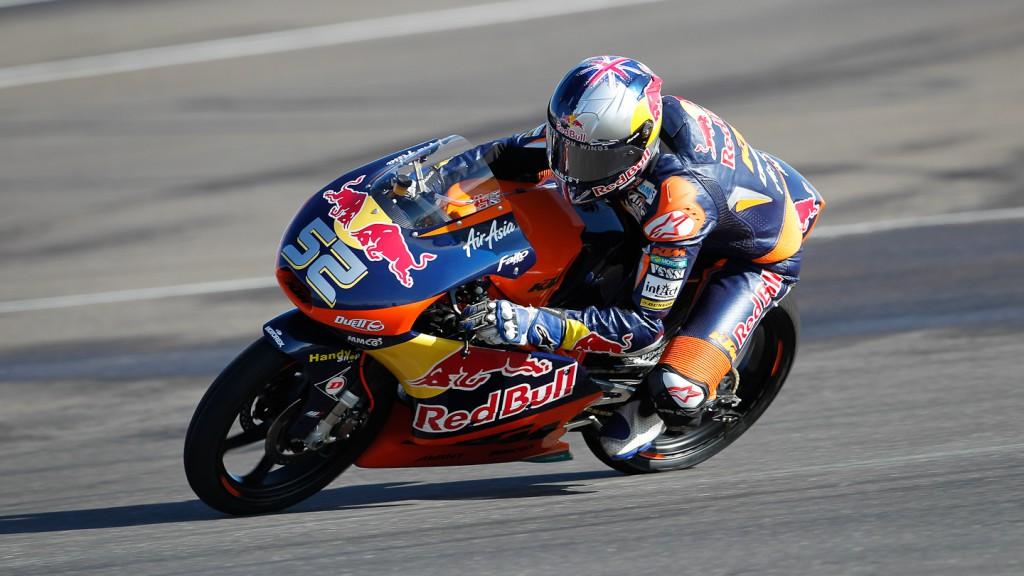 Danny Kent, Red Bull KTM Ajo, Indianapolis FP2