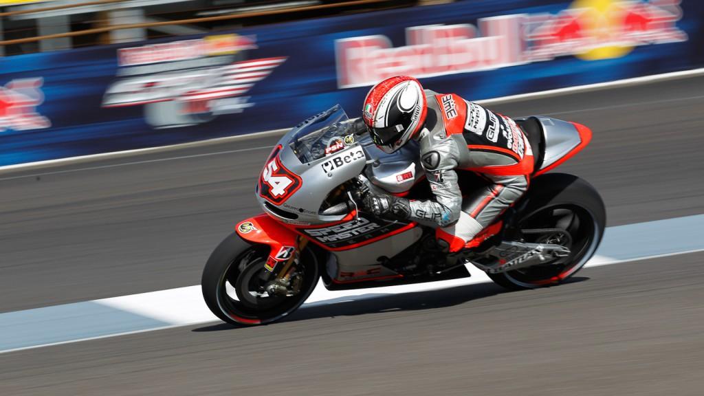 Mattia Pasini, Speed Master, Indianapolis FP2