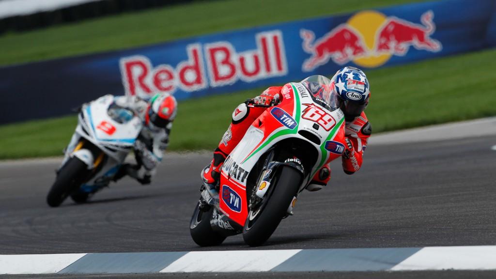 Nicky Hayden, Ducati Team, Indianapolis FP2