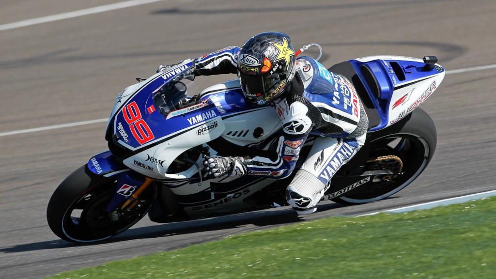 Jorge Lorenzo, Yamaha Factory Racing, Indianapolis FP2