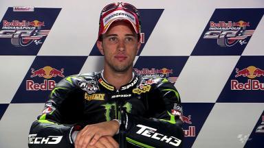 Indianapolis 2012 - MotoGP - QP - Interview - Andrea Dovizioso