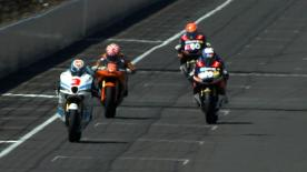 Under sunny skies at the Red Bull Indianapolis Grand Prix it was Pons 40 HP Tuenti's Pol Espargaró who stormed to pole position in front of Marc Márquez and Andrea Iannone in Moto2™ qualifying.