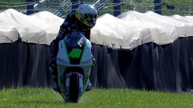 Indianapolis 2012 - Moto3 - FP3 - Action - Brad Binder