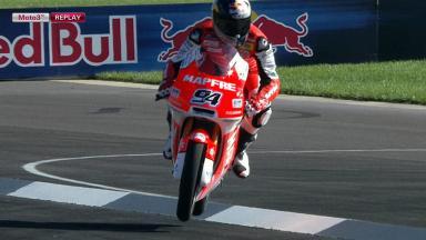 Indianapolis 2012 - Moto3 - FP3 - Action - Jonas Folger